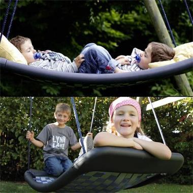 Grote foto schommelmatten voor binnen en buiten kinderen en baby los speelgoed