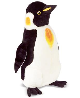 Grote foto melissa and doug pinguin kinderen en baby knuffels en pluche