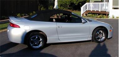 Grote foto mitsubishi eclipse 95 99 cabrio dak incl montage op locatie auto onderdelen overige auto onderdelen