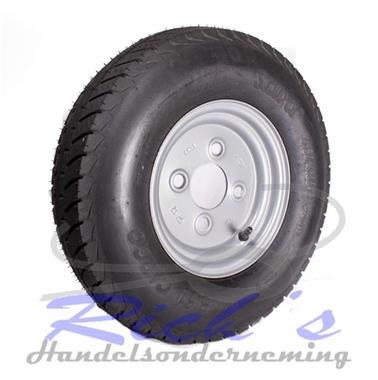 Grote foto wiel 8 inch compleet met sava band naafgat 60 mm auto diversen aanhangwagen onderdelen