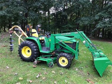 Grote foto john deere 43io tractor in zeer goede staat agrarisch tractoren
