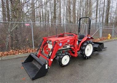 Grote foto yanmar 1601d trekker agrarisch tractoren