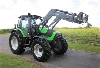 Grote foto deutz agrotron m620 4wd 2010 agrarisch tractoren
