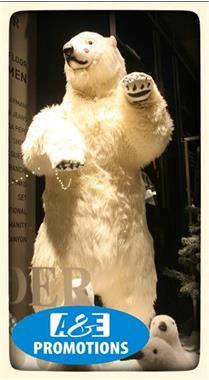 Grote foto siberisch sneeuwpanter verhuur ijsdecoratie gent diensten en vakmensen themafeestjes