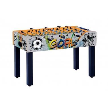 Grote foto garlando voetbaltafel f 1 goal met telescopische stangen kinderen en baby overige