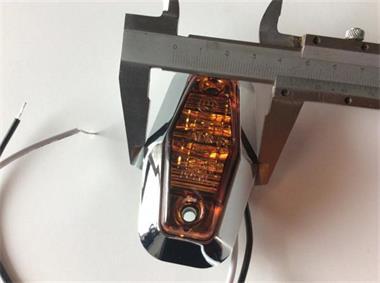 Grote foto 2 led markering lamp rood met e keur artikelnummer 2 led ro auto onderdelen overige auto onderdelen