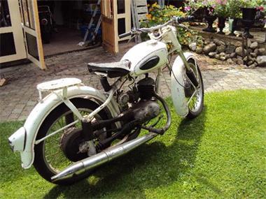 Grote foto mz 125 cc bouwjaar 1954 motoren oldtimers