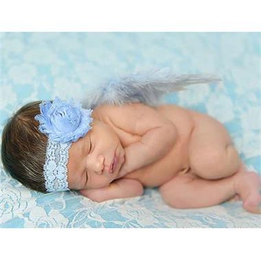 Grote foto super luxe baby haarbandje met stras. kinderen en baby overige babyartikelen