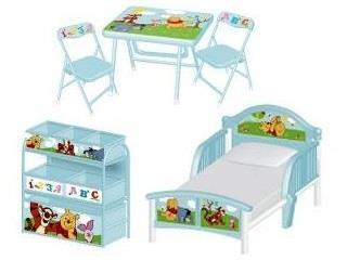 Grote foto winnie the pooh meubelset kinderen en baby complete kinderkamers