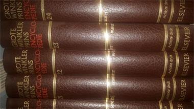 Grote foto grote winklerprins encyclopedie boeken encyclopedie n