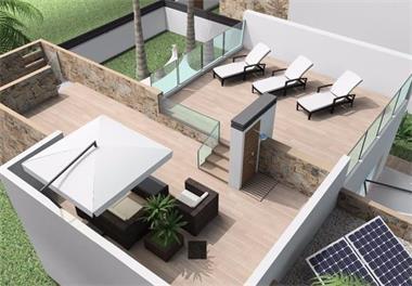 Grote foto luxe villamet zeezicht costa blanca spanje huizen en kamers nieuw europa