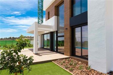 Grote foto moderne luxe villa met zeezicht costa blanca huizen en kamers nieuw europa