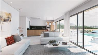 Grote foto moderne gelijksvloerse villa costa blanca huizen en kamers nieuw europa