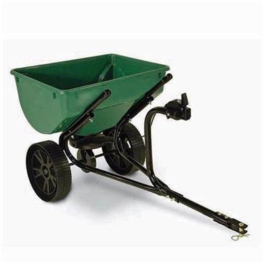 Grote foto kunstmeststrooier zoutstrooier voor zitmaaiers 35 kg tuin en terras grasmaaiers