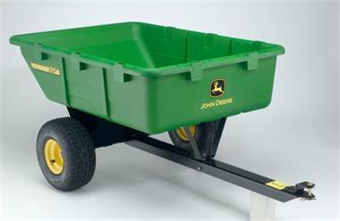 Grote foto aanhangwagen voor zitmaaier 295 kg laadvermogen gratis bez tuin en terras grasmaaiers