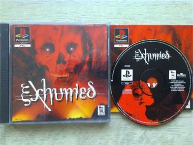 Grote foto ps1 exhumed spelcomputers games playstation