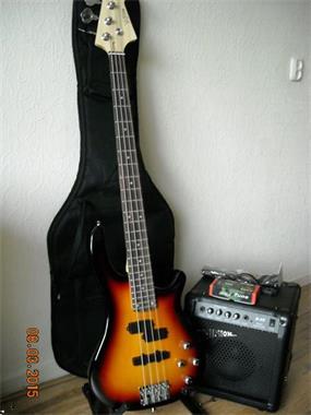 Grote foto prima komplete beginners basgitaar set nieuw muziek en instrumenten gitaren bas