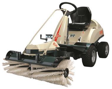 Grote foto cramer tourno king size veegmachine gratis bezorgen tuin en terras grasmaaiers