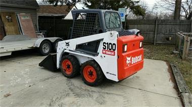 Grote foto 2011 bobcat s100 steunloader met laden doe het zelf en verbouw kranen en graafmachines