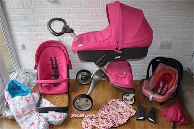 Grote foto stokke xplory kinderwagen reissysteem 3 in 1 kinderen en baby kinderwagens