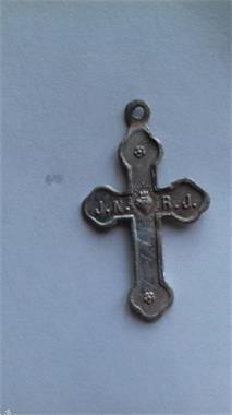 Grote foto kruisje antiek en kunst religie