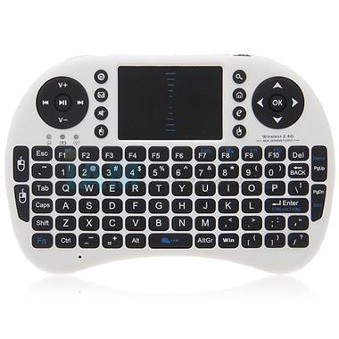 Grote foto mini wireless draadloos toetsenbord muis rii i8 keyboard audio tv en foto afstandsbedieningen