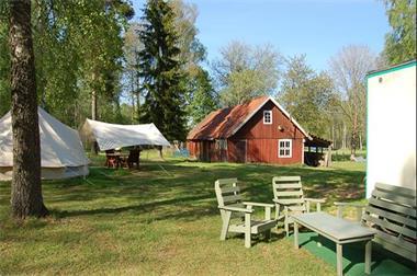 Grote foto natuurcamping in zuid zweden caravans en kamperen campings