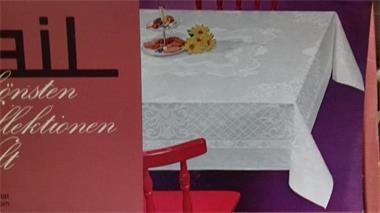 Grote foto damast tafel kleed antiek en kunst kleding en textiel