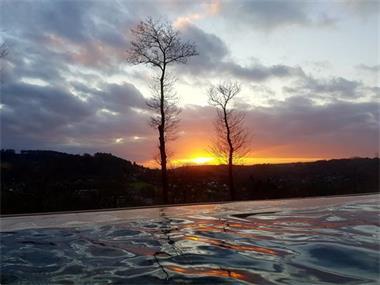 Grote foto ardennen te huur in durbuy wellness villa zicht vakantie belgi