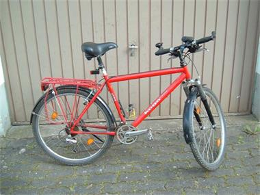 Grote foto tracking fiets koga miyata fietsen en brommers herenfietsen