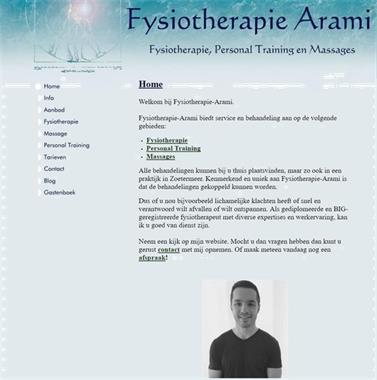 Grote foto fysiotherapie arami massage fysio en training. diensten en vakmensen therapeuten