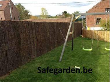 Grote foto spaanse heidematten safegarden extra dik 59.28 tuin en terras hekken en schuttingen