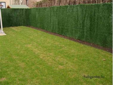 Grote foto kunsthaag safegarden green extra korting 33.20 tuin en terras hekken en schuttingen