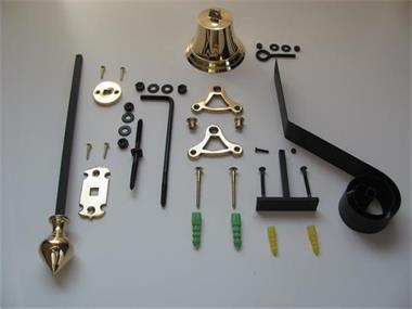Grote foto onderdelen voor een ouderwetse trekbel doe het zelf en verbouw onderdelen