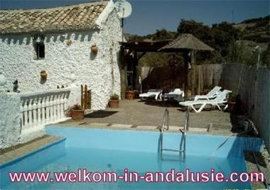 Grote foto huisje met zwembad andalusie vakantie spanje