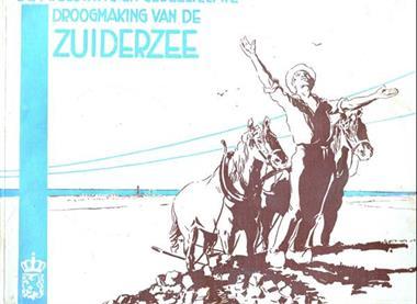 Grote foto afsluiting en gedeeltelijke drooglegging zuiderzee boeken geschiedenis regio