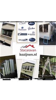 Grote foto kunststof kozijnen met dubbelglas caravans en kamperen stacaravans
