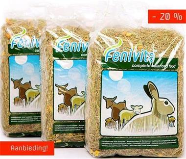 Grote foto fenivita hooi met vitaminen en snacks dieren en toebehoren toebehoren