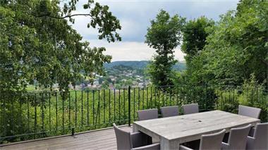 Grote foto ardennen luxe chalet te huur in durbuy uitzicht vakantie belgi