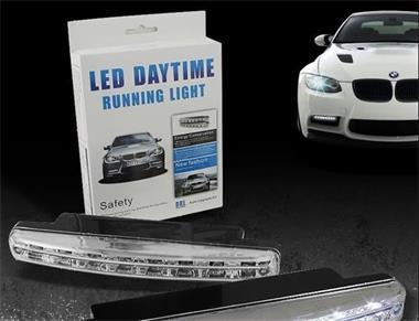 Grote foto led verlichting voorbumper auto drl daytime running light auto onderdelen overige auto onderdelen