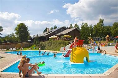 Grote foto stacaravan 5p op camping met zwembad la roche vakantie belgi