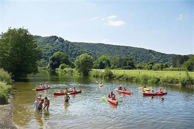 Grote foto stacaravan 4p camping met zwembad la roche vakantie belgi