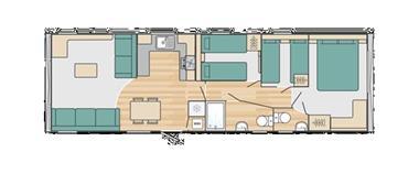 Grote foto stacaravan swift bordeaux caravans en kamperen stacaravans