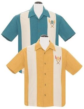 Grote foto steady tropical itch in mustard. kleding heren t shirts