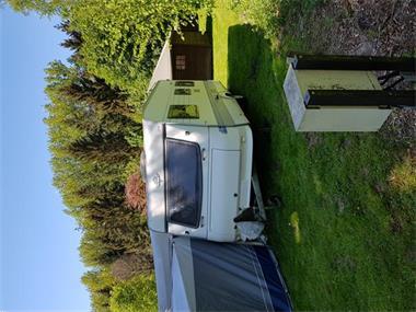 Grote foto aangepaste caravan caravans en kamperen caravans
