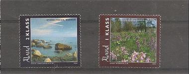 Grote foto aland natuur 2004 postzegels en munten scandinavi