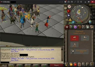 Grote foto osrs skiller spelcomputers games pc