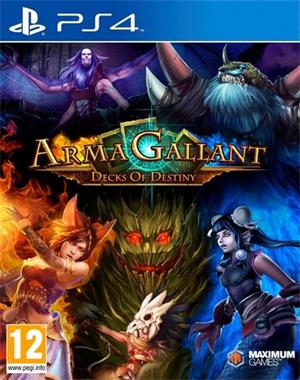 Grote foto armagallant decks of destiny gratis verzending spelcomputers games playstation 4