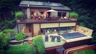 Grote foto ardennen durbuy prachtig wellness chalet te huur vakantie belgi