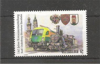 Grote foto raab oedenburg ebenfurter railway oostenrijk postzegels en munten oostenrijk